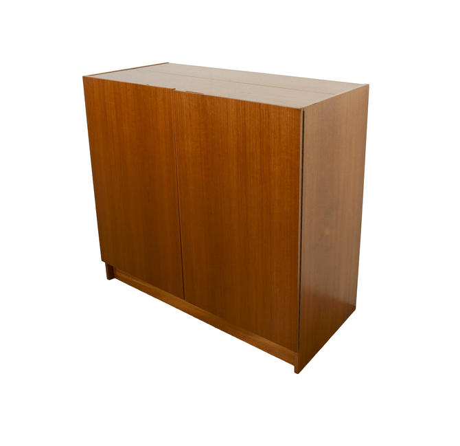 Folding Desk Danish Modern Magic Box Desk Mid Century Modern by HearthsideHome