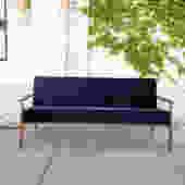 Copenhagen Sofa in Blue Velvet