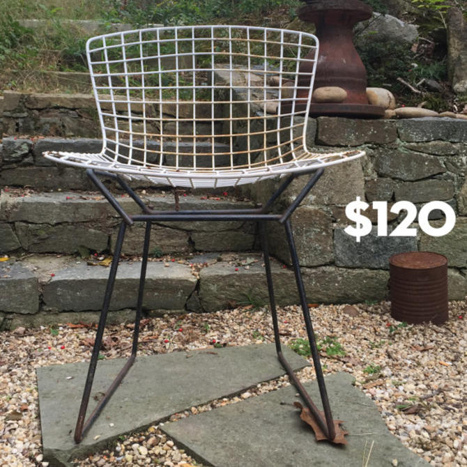 Astonishing Harry Bertoia Modern Wire Chair Dining Patio Knoll 1950S Mid Evergreenethics Interior Chair Design Evergreenethicsorg