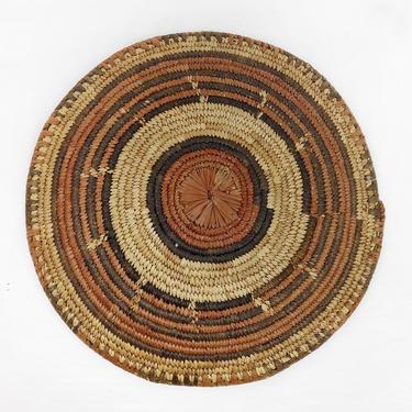 Bohemian Woven Wicker Wall Basket - Vintage Wall Art by CollectedATX
