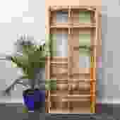 vintage bamboo etagere