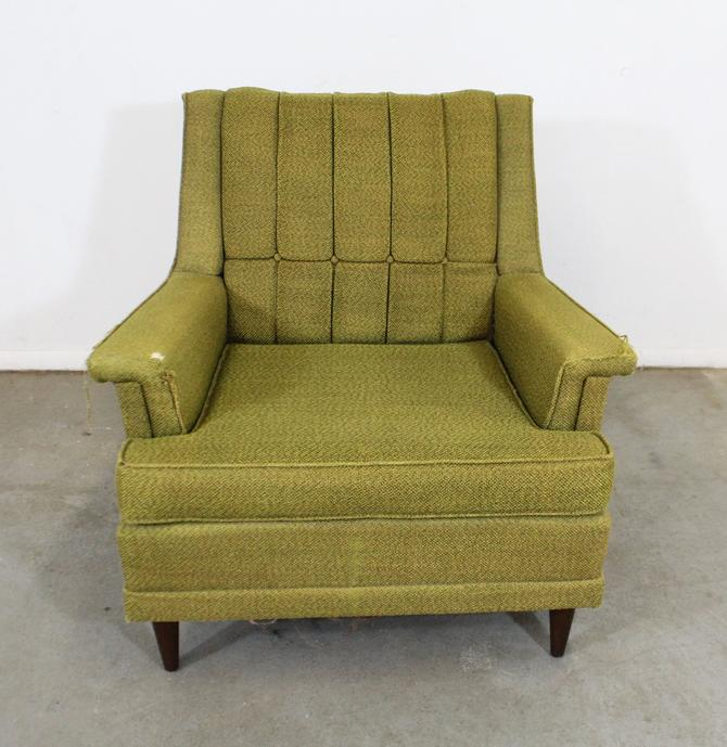 Mid-Century Danish Modern Kroehler Galaxy High Back Lounge/Club Chair by AnnexMarketplace