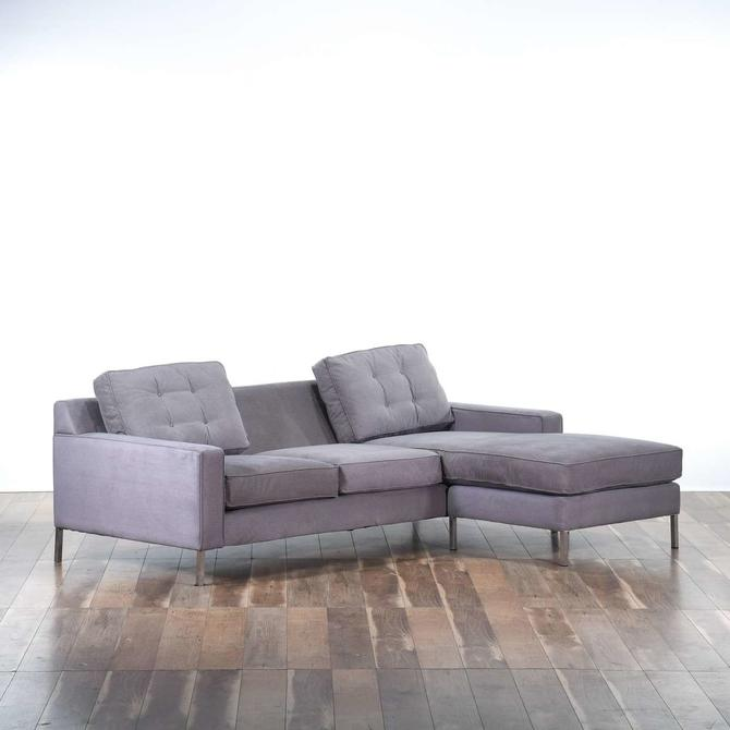 Contemporary Interchangeable Sectional Sofa