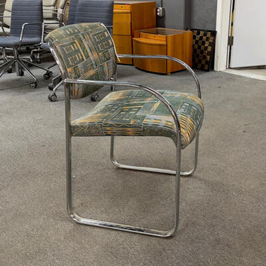 Steelcase Chrome Dining Chair
