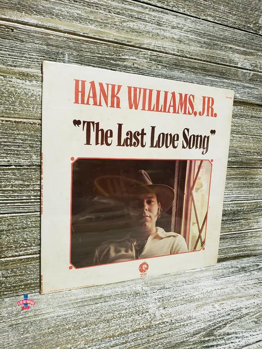 Hank Williams Jr Vinyl Sealed Vintage Hank Williams Jr Lp The Last Love Song 70s Southern Rock Country Music Vintage Vinyl By Agogovintage