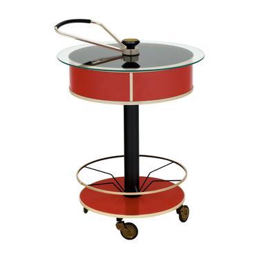 Italian Hydraulic Bar Cart