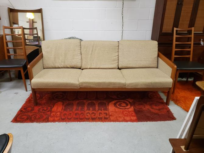 Danish Modern Teak Couch