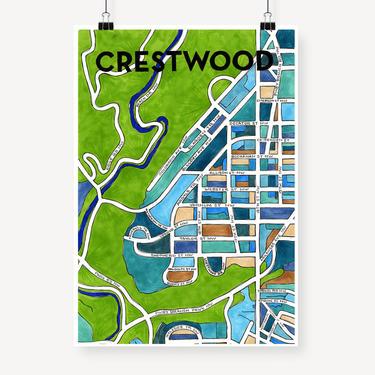 Crestwood Print