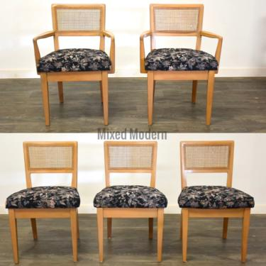 Edward Wormley for Drexel Dining Chairs - Set of 5 by mixedmodern1
