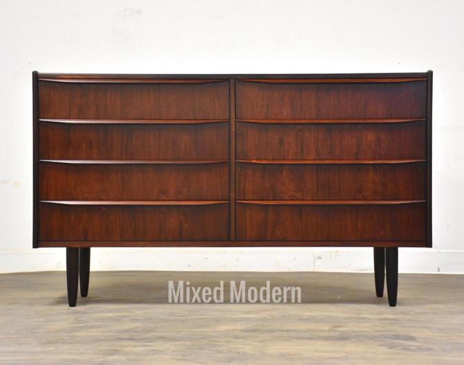 Petite Danish Rosewood Dresser by mixedmodern1