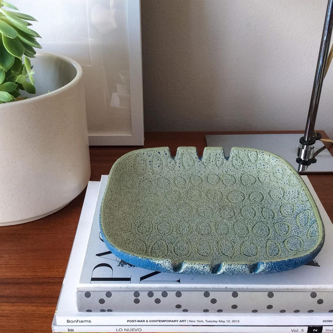 Raymor Italy Ovals Tray Vintage Mid Century Handmade