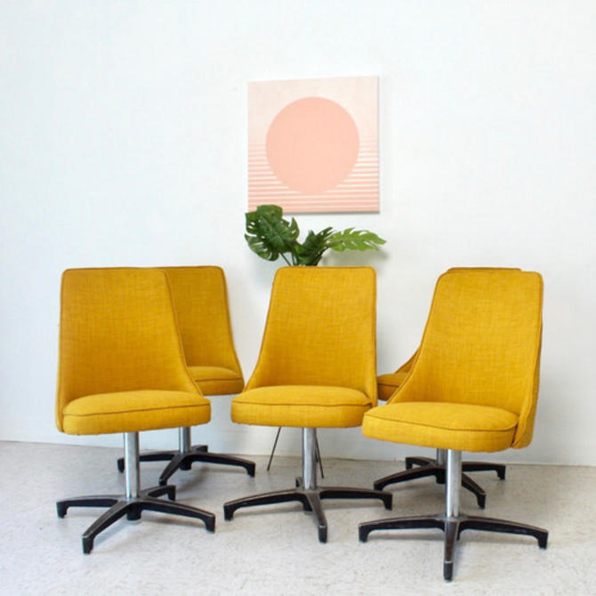 Vintage Swivel Mod Chairs