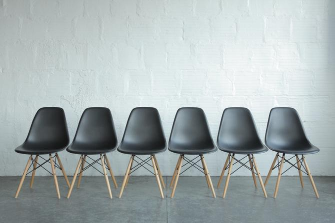 Herman Miller Eames Plastic Shell Chairs