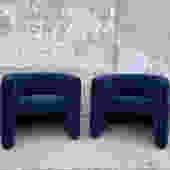Vintage Knoll Club Chair