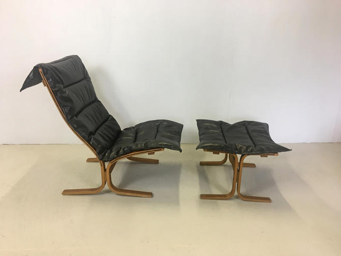 Westnofa Sling Lounge Chair with Ottoman by retrocraftdesign