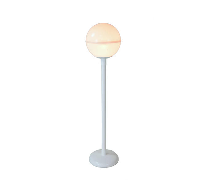 Vintage Mid Century Modern Atomic Globe Floor Lamp for Indoor or Outdoor Use by PrairielandArt