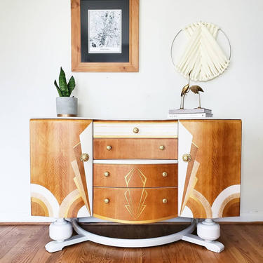 Beautility Art Deco buffet *SHIPPING NOT FREE * by AndreaPalmaiDesign
