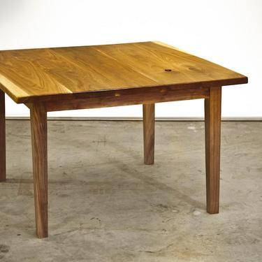 Black Walnut Tapered Leg Table