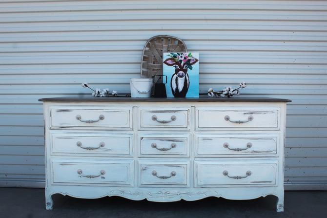 Farmhouse French Dresser