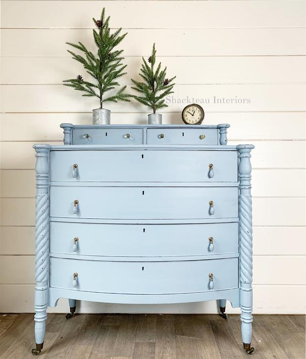 Harbor Blue Dresser