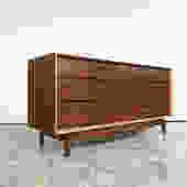 Mid Century Walnut Dresser by Kent Coffey