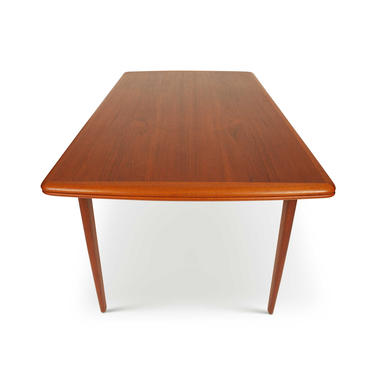 1960s Vintage Danish Mid-Century Teak Extension Dining Table by MCMSanFrancisco
