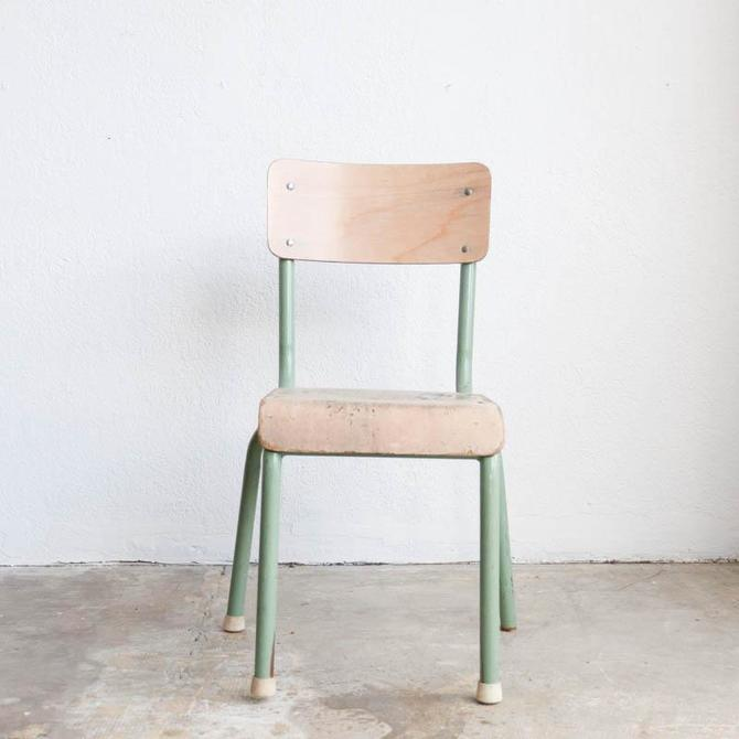 Petite Vintage School Chair