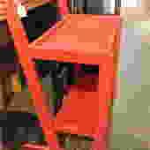 Red bar cart? $75