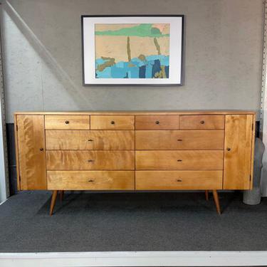 Rare Paul McCobb 20 Drawer Dresser