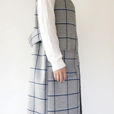Gray Wool Vest by shopjoolee