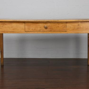 Antique Country French Provincial Farmhouse Oak Dining Table by StandOutSpaces