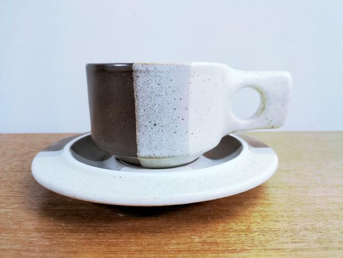 Vintage Fabrik Agate Pass   Cup & Saucer(s)   Jim McBride   Seattle by TheFeatheredCurator
