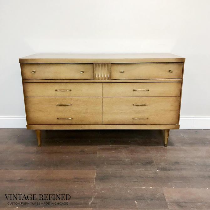 CUSTOMIZABLE: MCM Dresser by VintageRefinedDecor