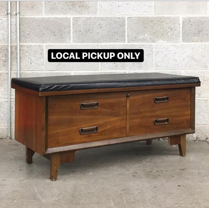 LOCAL PICKUP ONLY ———— Vintage Lane Cedar Trunk by RetrospectVintage215