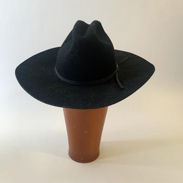 Black Wool Eddy Cowboy Hat