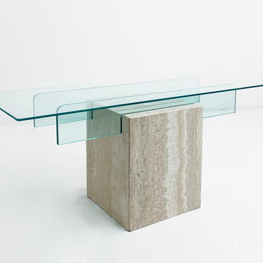 Travertine Coffee Table by BetsuStudio