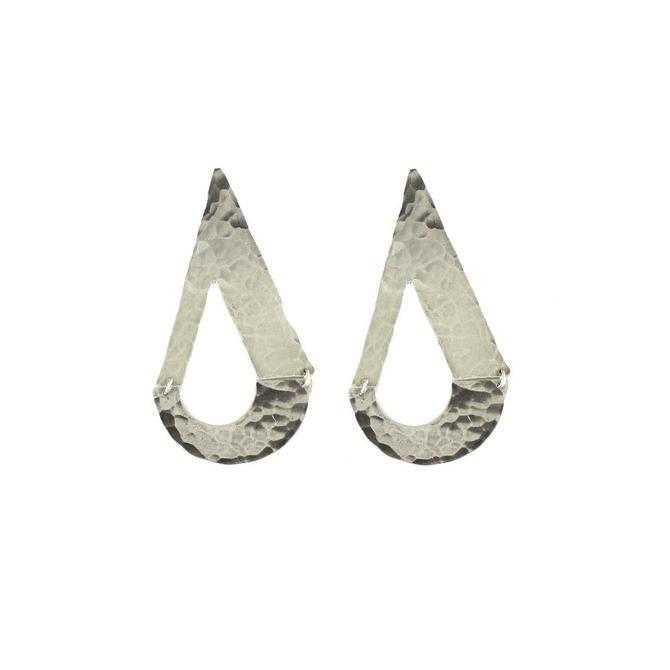 Dew Drop Earring  - Silver