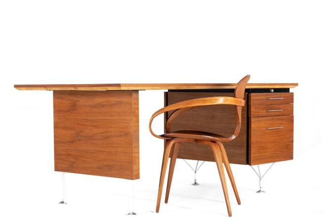 Mid Century Modern Writing Desk by George Reinoehl for Stow Davis by ABTModern