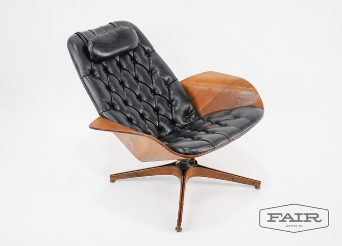 George Maulhauser for Plycraft Mr. Chair in Black
