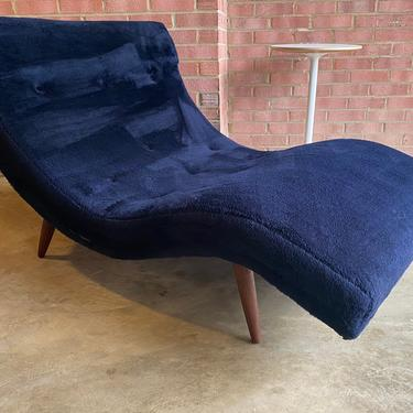 Vintage Midcentury Wave Form Chaise Lounge Loveseat by Adrian Pearsall for Craft Associates by MSGEngineering