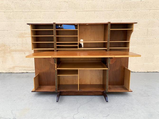"Mummenthaler & Meier Foldable ""Magic Box"" Desk, 1960s, Free U.S. Shipping"