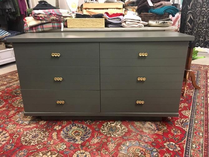 Paige-Long Ebony Dresser, The Linville by Kent Coffey by StylishPatina
