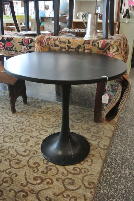 Black Tulip Table. $150