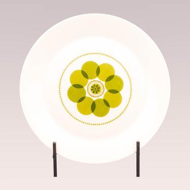 Jupiter China Chop Plate | Vintage Sears and Roebuck Round Serving Platter | Vintage Mid Century Modern Dinnerware | Atomic Tableware by MostlyMidCenturySF