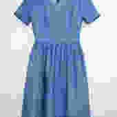 Denim Dress by shopjoolee