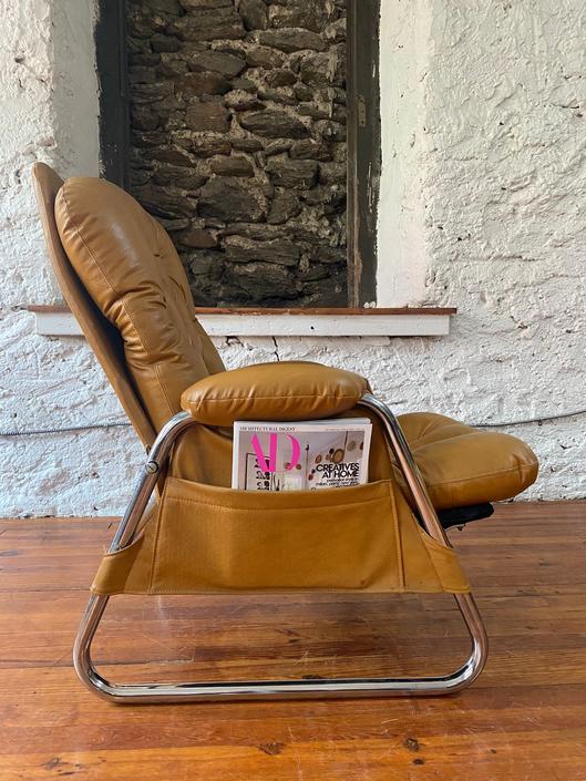 Mid century lounge chair Danish modern arm chair mid century modern accent chair by VintaDelphia
