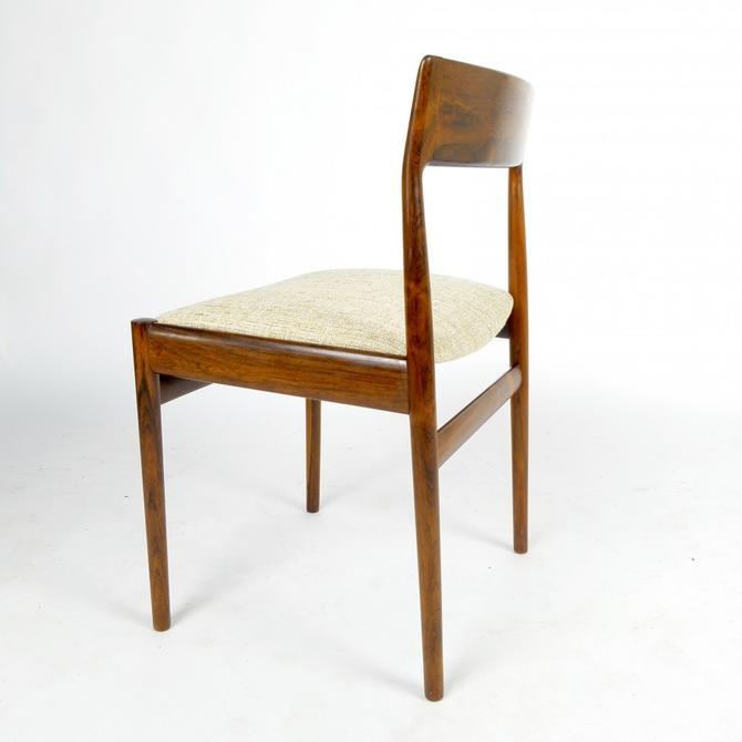 Rosewood Frame Side or Desk Chair
