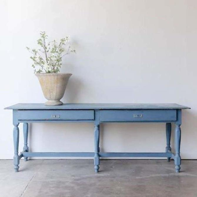 Chalky Blue Console