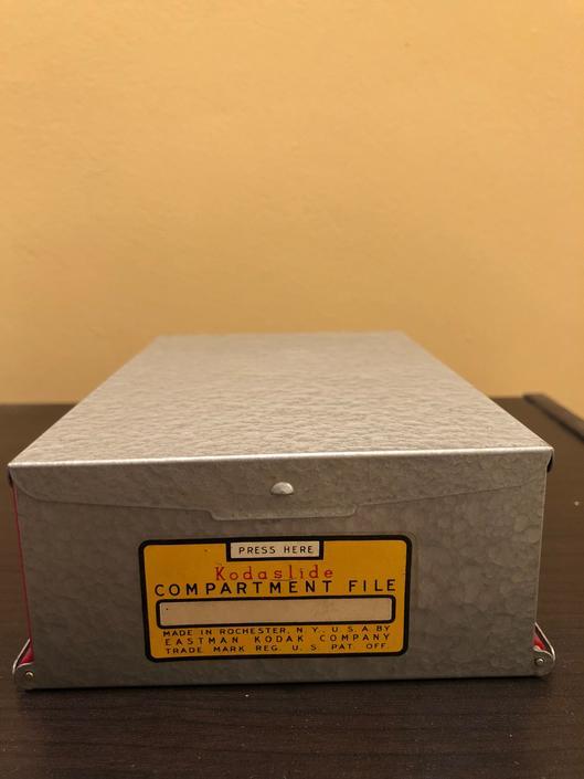 Vintage Kodak Kodaslide Compartment by OverTheYearsFinds