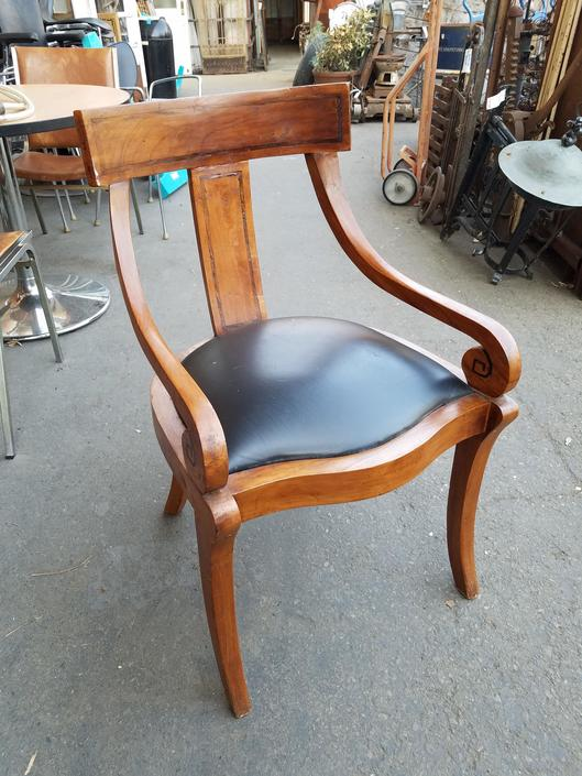 Tropical Hardwood Chair H34.5 x W21.25 x D23